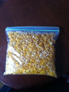 Preserving Corn (While We Can Afford To)